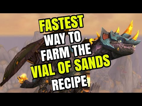 Fastest Way To Farm The Vial Of Sands Recipe | Easy Farming Guide (8.3)