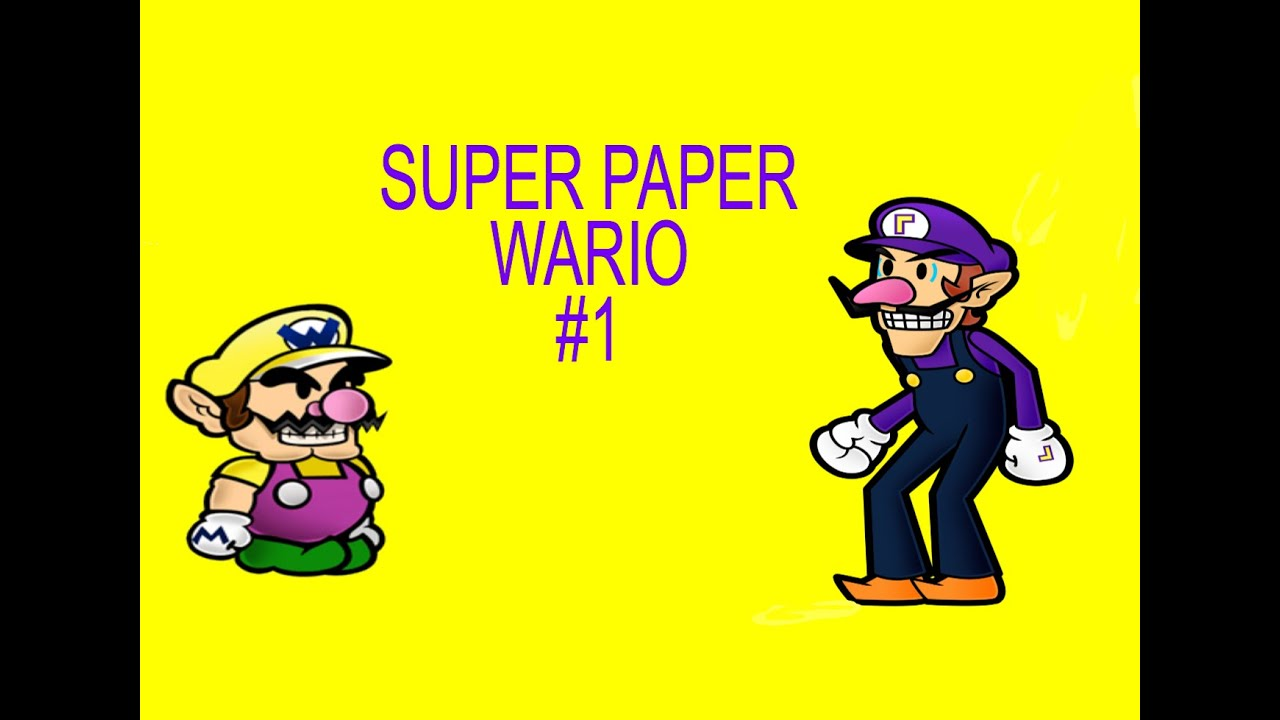 paper wario Wario is a character in the mario games who first started off as an antagonist but has since.