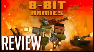 8-Bit Armies Review – Mine, Craft, Command, and Conquer (Video Game Video Review)