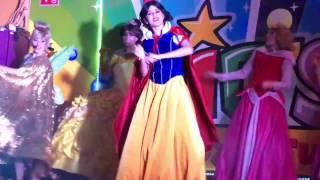 PrincesShow: Rapunzel - Aurora - Bella - Aurora - Blanca Nieves