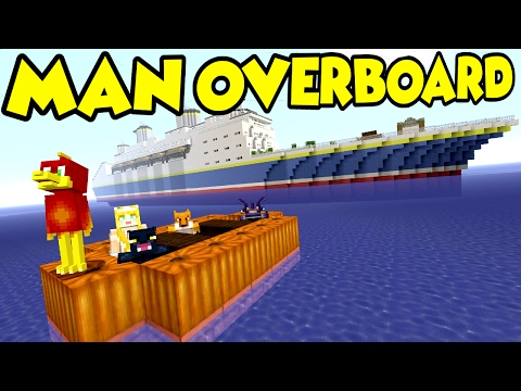 MAN OVERBOARD !!! - - Murder Mystery - Minecraft xbox