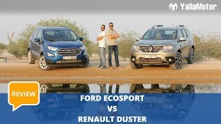 Ford EcoSport vs Renault Duster - Which is better? | YallaMotor.com