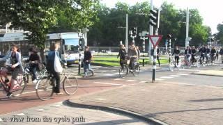 Bicycle rush hour Utrecht (Netherlands) 2011