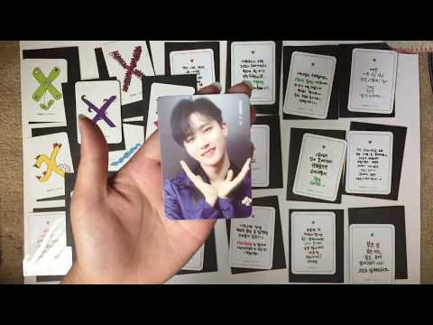 [UNBOXING] MONSTA X BEAUTIFUL ERA BROADCAST CARDS AND STICKERS (ALL 28)