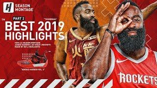 James Harden BEST Highlights & Moments from 2018-19 NBA Season! The BEARD! (LAST Part 2)