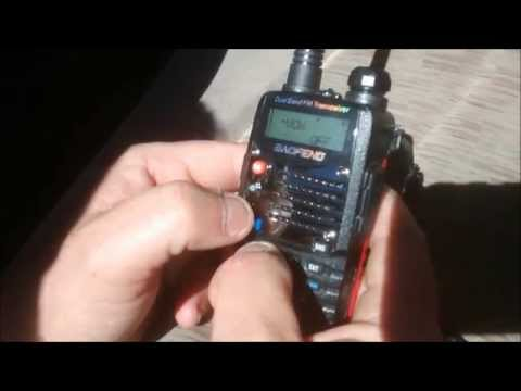 Programming Baofeng 2 way radios