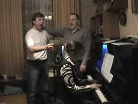 """Zabota"": Sings Oleg Lebedev & Alexei Digore. Pian..."