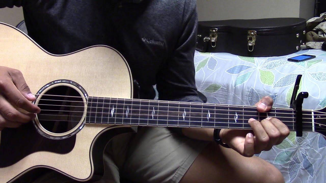 Babylon David Gray Boyce Avenue Guitar Lesson Youtube