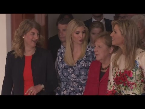 Ivanka Trump heckled for defending father at women