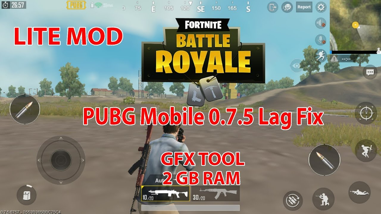 Pubg Lite Hd Tools: PUBG Mobile 0.7.5 Lag Fix