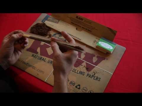 RAW 12 Inch Supernatural Rolling Papers & Quintessential Hemp Tips