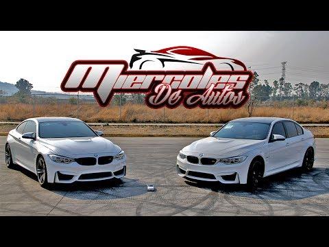 BMW M3 vs BMW M4 - Review, arrancón y más! [Miércoles de Autos] || Ganque