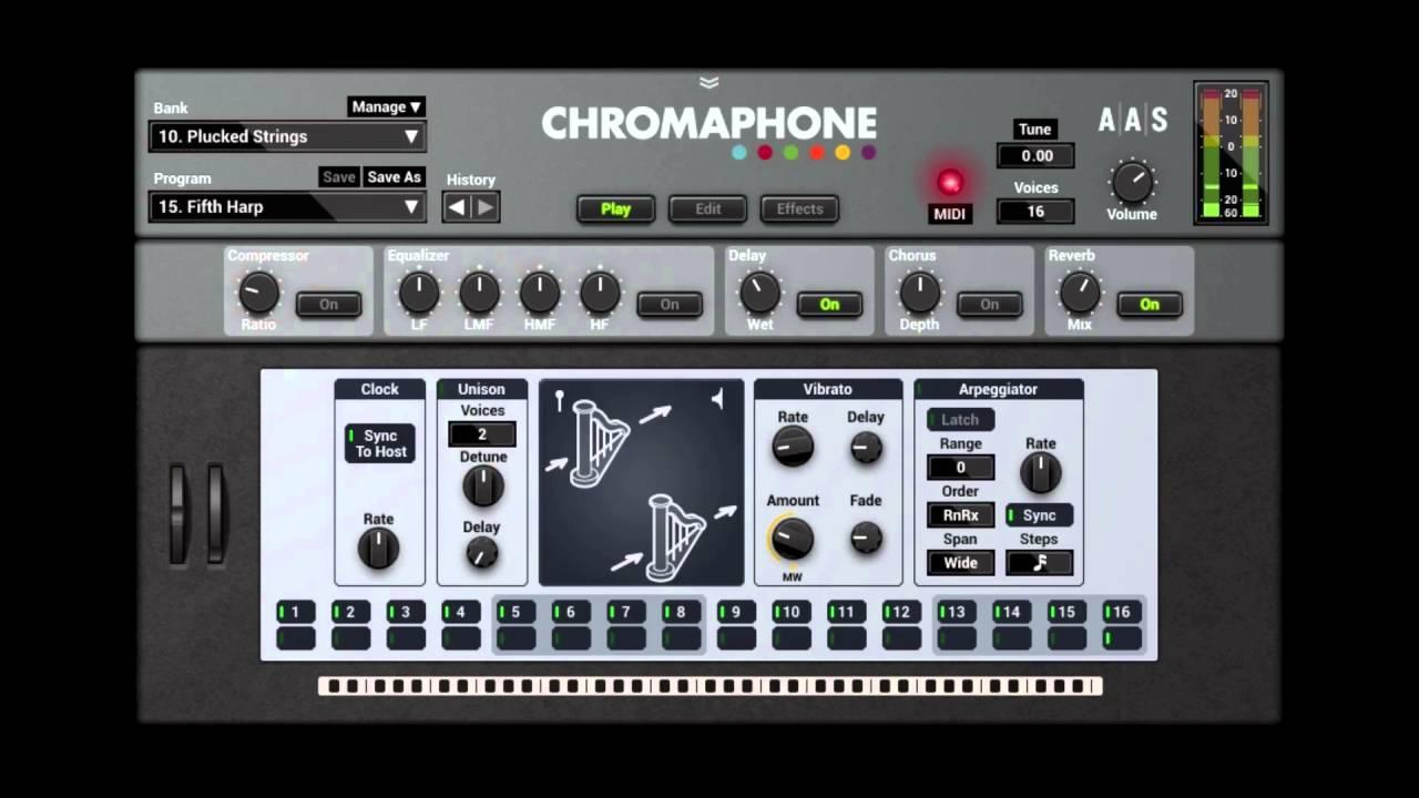 Chromaphone 2NKS-READY