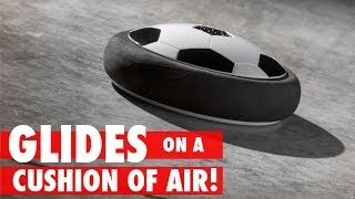 Hovercraft + Soccer = Air Power Soccer Disc