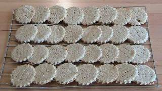 Old Fashioned Oat Cookies - Recipe