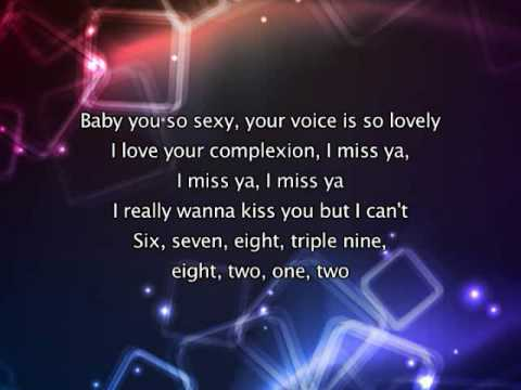 Soulja Boy Tellem ft Sammie - Kiss Me Through The Phone [with lyrics]