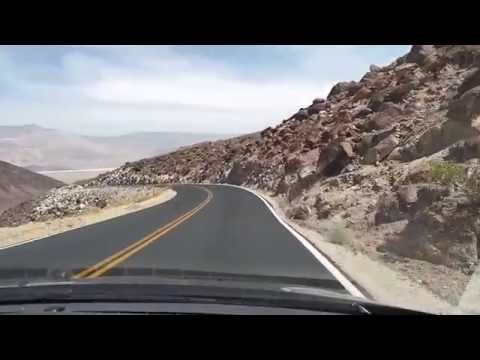 Highway 190 through Death Valley National Park