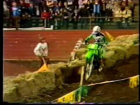 1982 Supercross at Olympic Stadium - Race 3  - 250cc Heat 1