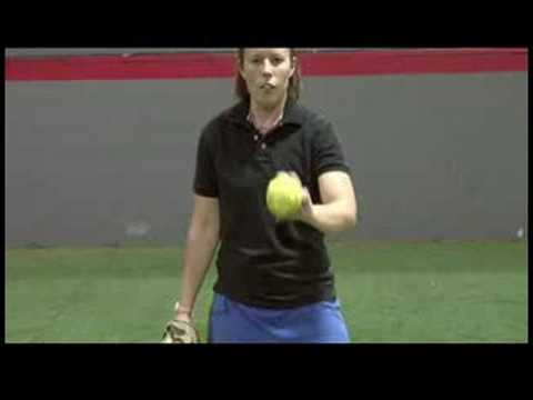 Softball Overview : How to Throw a Curveball in Slow Pitch Softball