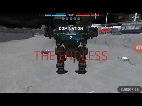 TREBUCHET NATASHA DESTROYS --WAR ROBOTS (WR)--