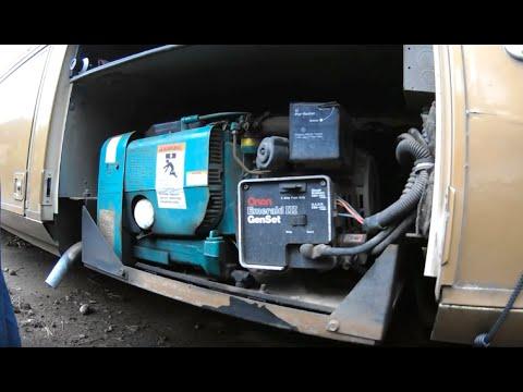 Motorhome Generator Repair Attempt 1