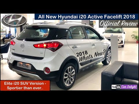 Active i20 2018 Top Model Review in Hindi | i20 Active 2018 SX Interior,Features,Price