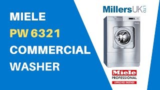 Commercial Washer - Miele PW 6321 32kg Washer