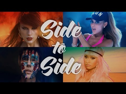 Side To Side (The Megamix) - Justin Bieber · KPerry · LGaga & More 2016 (T10MO)