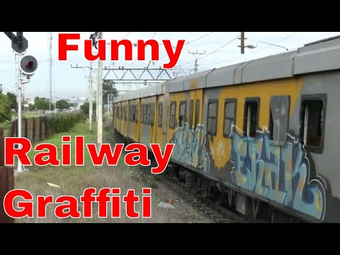 METRORAIL Cape Town Mobile Artwork Gallery Graffiti Funny Documentary