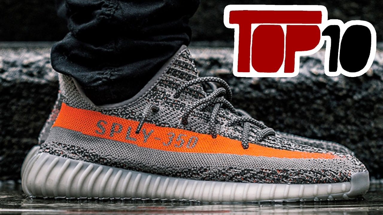 Top 10 Most Popular Shoes Of 2016