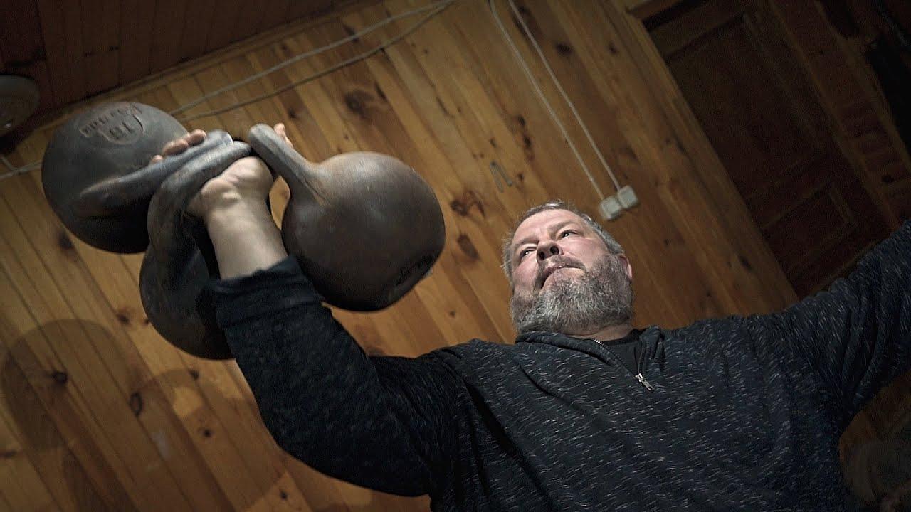 ИЩЕЙКИН. Патриарх гиревого спорта / Тренировки на силу и хват с гирями