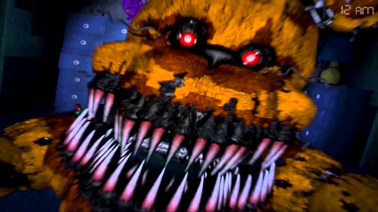 Jumpscare Nightmare Fredbear Five Nights At Freddy S 4