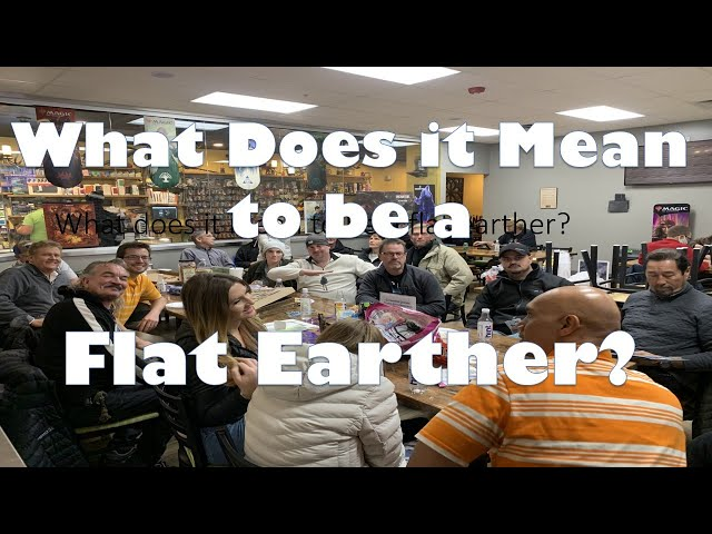 What Does it Mean to Be a Flat Earther?