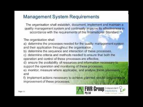 Quality Assurance Presentation Canberra