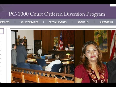 CA Drug Diversion | PC 1000 | Deferred Entry of Judgment