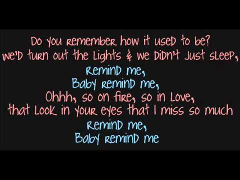 Brad Paisley & Carrie Underwood; Remind Me Lyrics ♥