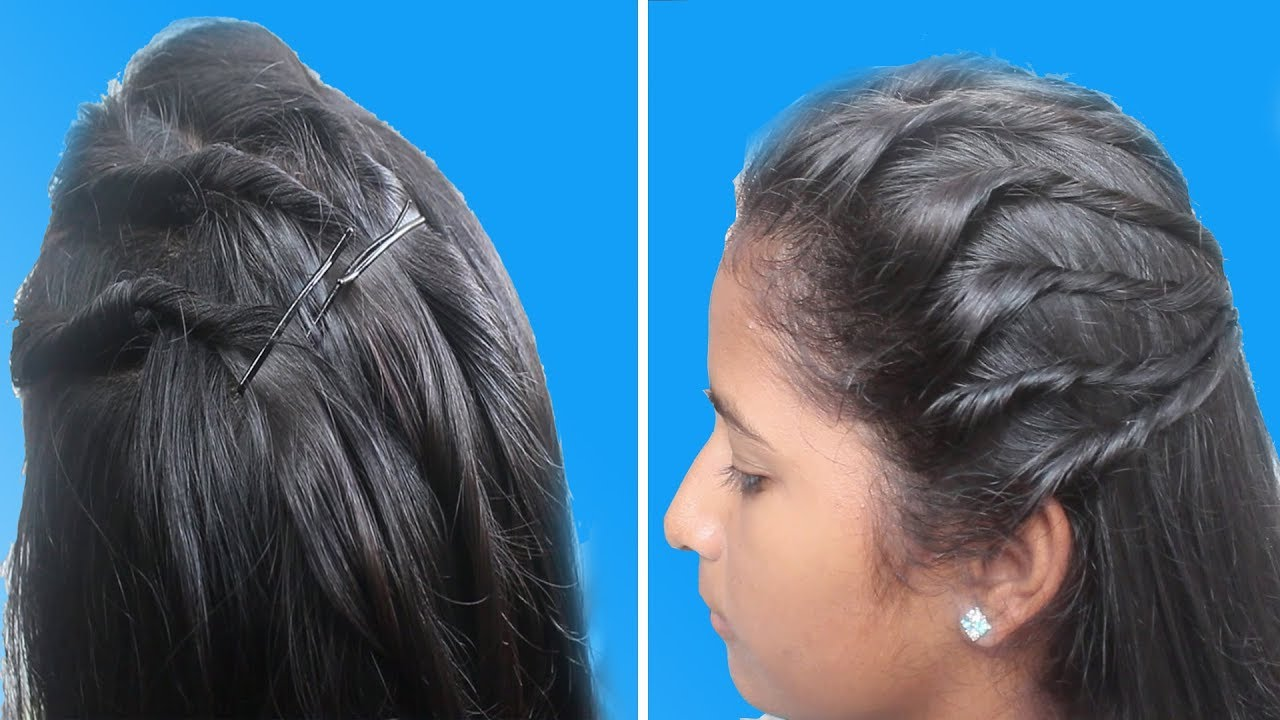Free Hair Style Designs Latest Hair Style For Girls Ladies Hair Style Step By Step Tutorials Youtube