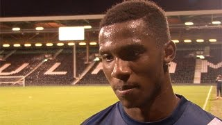 INTERVIEW | Solomon-Otabor delighted with first Blues goal | Fulham 2-5 Birmingham City