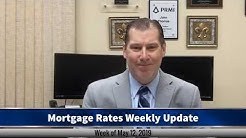 Mortgage Rates Weekly Video Update May 12 2019