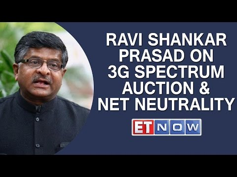 EXCL | Ravi Shankar Prasad On 3G Spectrum Auction, TRAI & Net Neutrality
