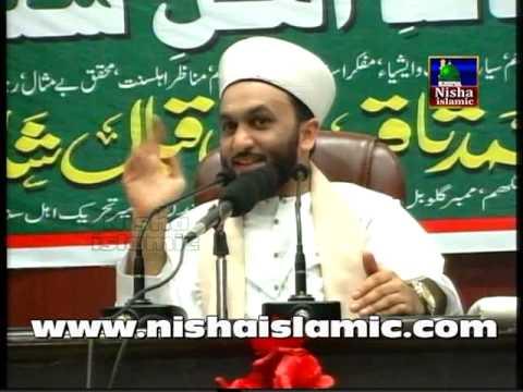 Hazrat Allama Pir Muhammad Saqib Bin Iqbal Al Shaami in Hyderabad 2015 Urdu Maskan by Nisha islamic