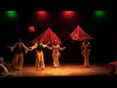 Danza Tradizionale Algeria - Berber Kabyle - Bellydance - Saggio Voyage en Orient