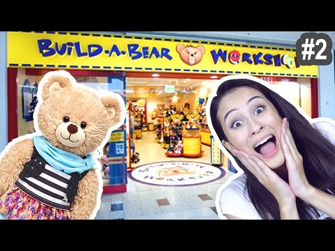 ZELF KNUFFELS SAMENSTELLEN?! #2 - Build A Bear || Let's explore