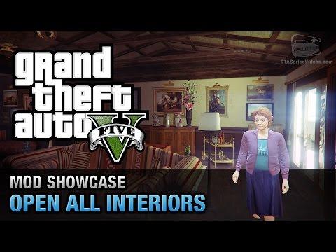 GTA 5 PC - Open All Interiors [Mod Showcase]