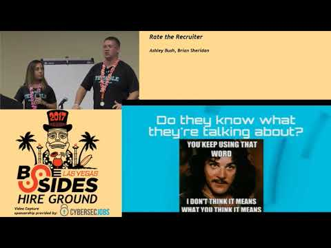HG - Rate the Recruiter - Ashley Bush & Brian Sheridan