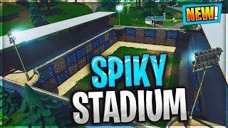 NEW FORTNITE Spiky Stadium – Playground MINI GAME ARENA