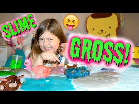 GROSS SLIME COLLECTION 😝  | Sedona Fun Kids TV
