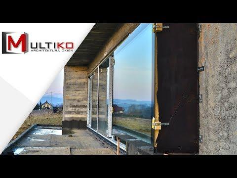 Nietypowe, wysunięte okno panoramiczne – montaż