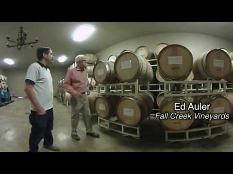 Ed Auler from Fall Creek Vineyards