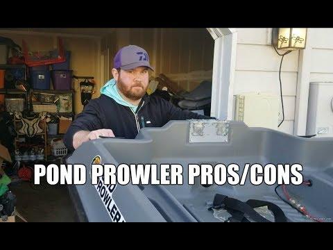 Windy Day Pond Prowler Struggles